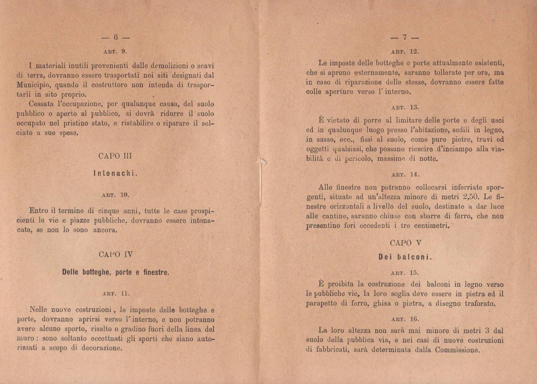 1920 Ditta Geometra Paggi Muratori