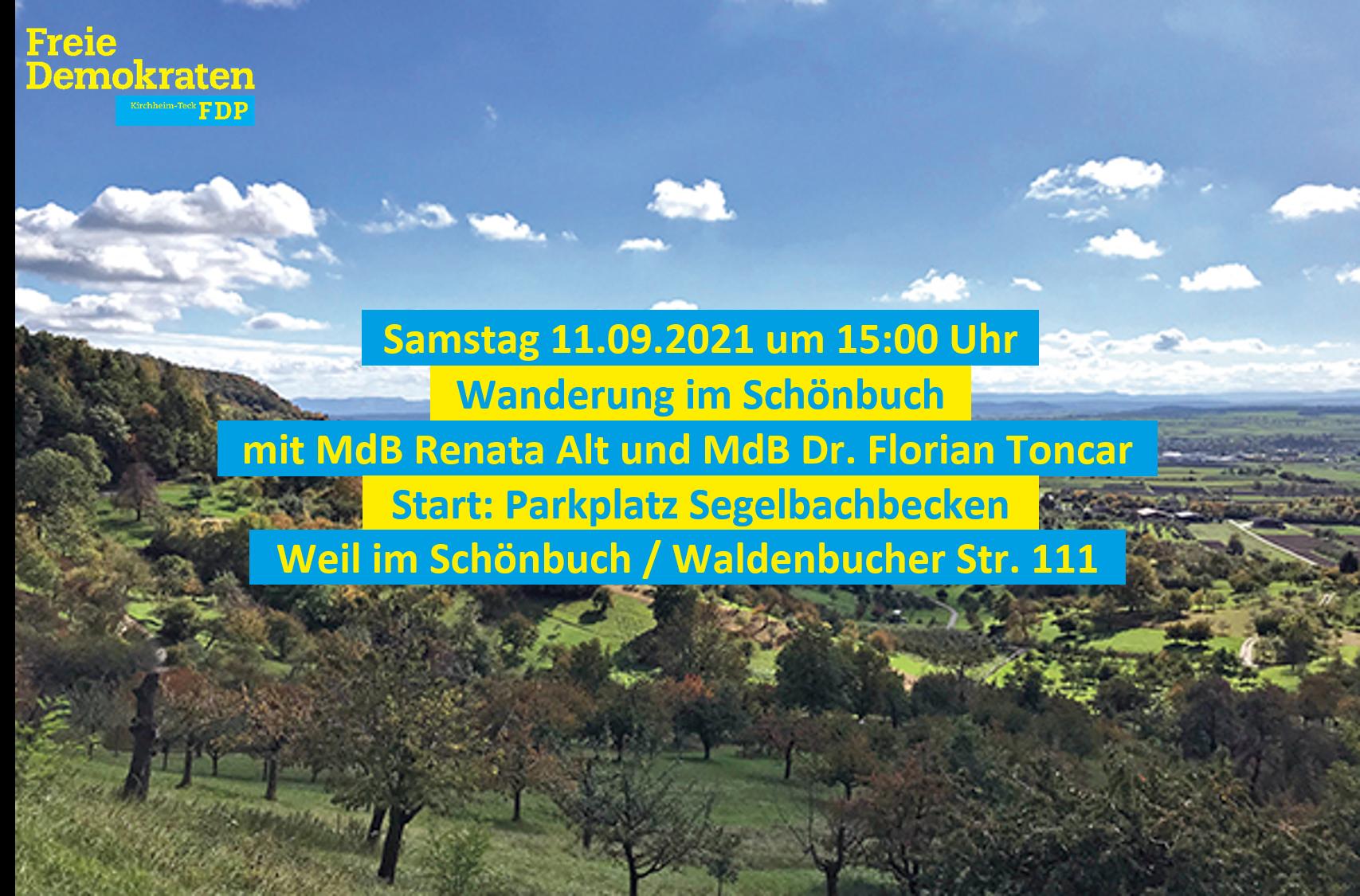 Veranstaltung mit Renata Alt und Dr. Florian Toncar