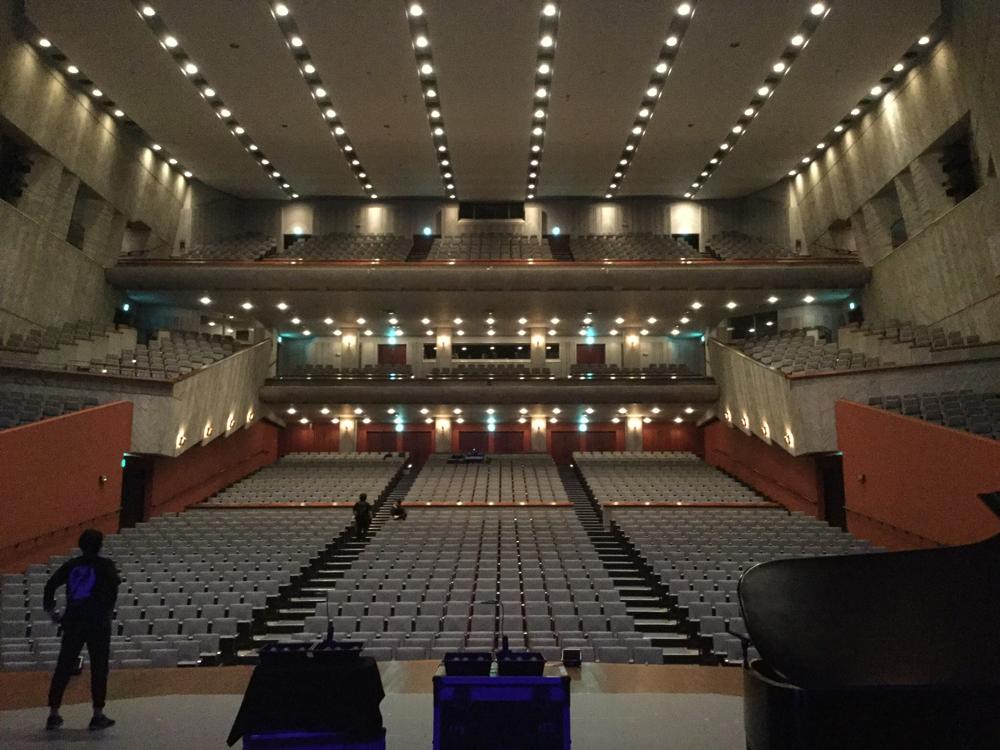 熊本県立劇場!初の熊本、ようやく来れました!嬉しいぃ!!