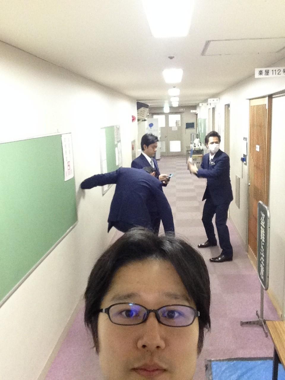名古屋公演、隠し自撮りぃ!