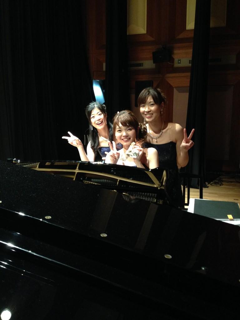 ピアノチーム!