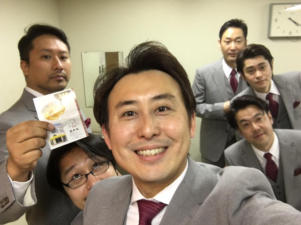 二日目、沼津公演!今井さん、それ何?