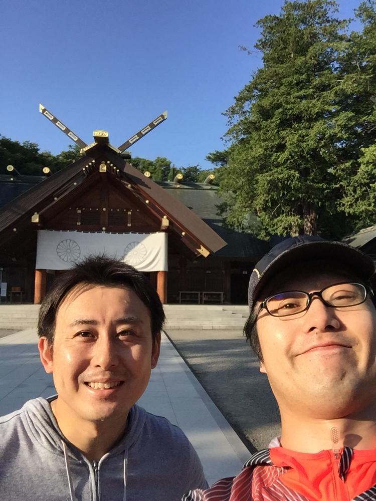 朝ランでお邪魔した北海道神宮。素敵な所、また来たい!!