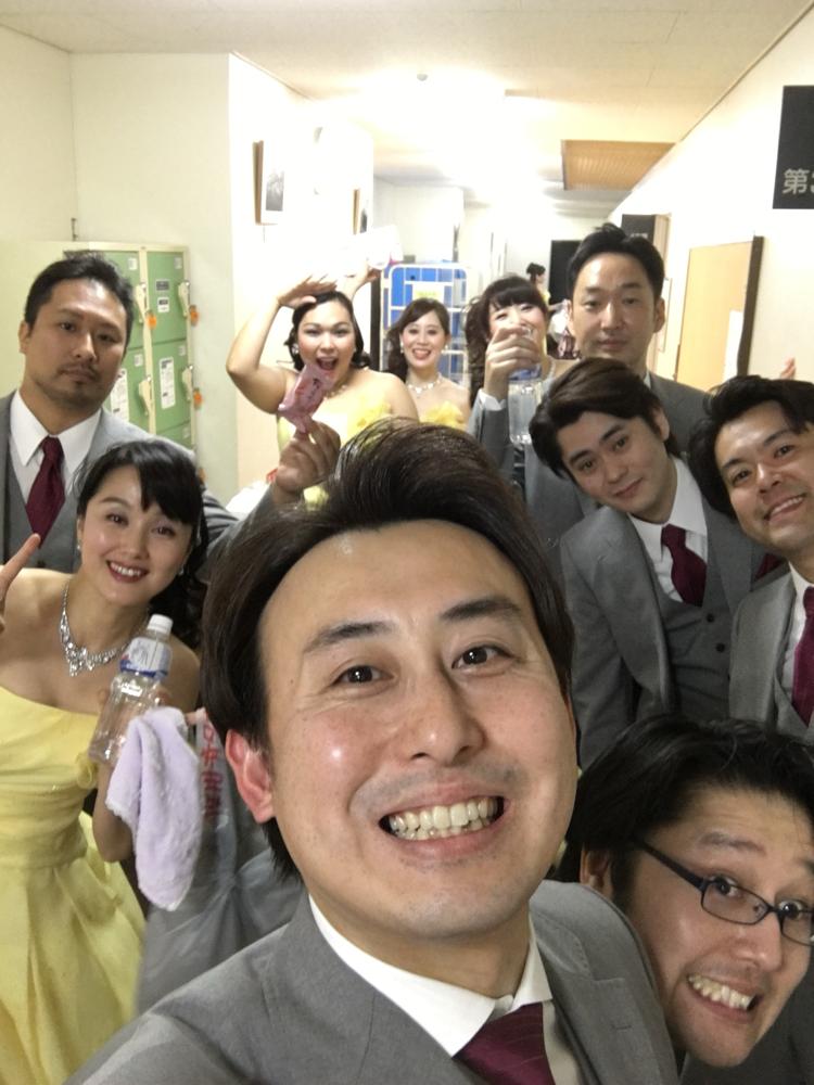 初日、焼津公演!今日から三日間は榛葉君がカメラマンです!