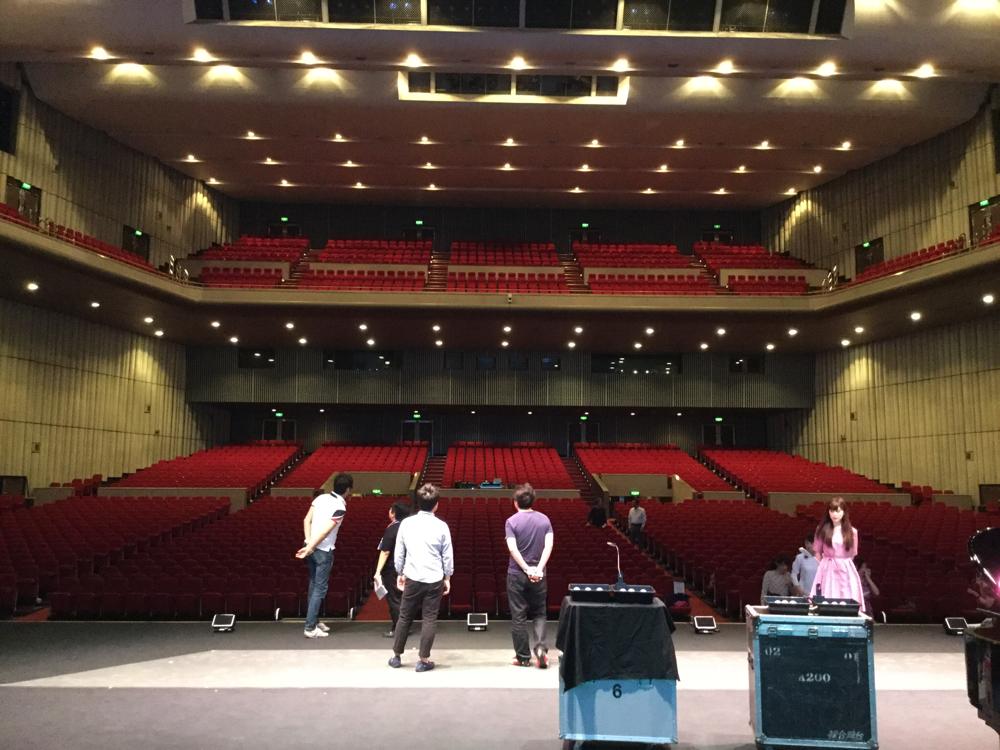 札幌の会場です。