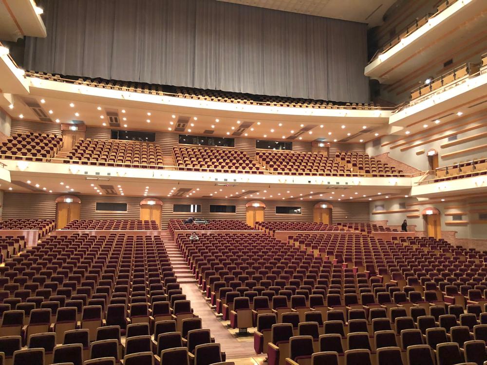 楽日、浜松公演!アクトシティも綺麗な会場です!