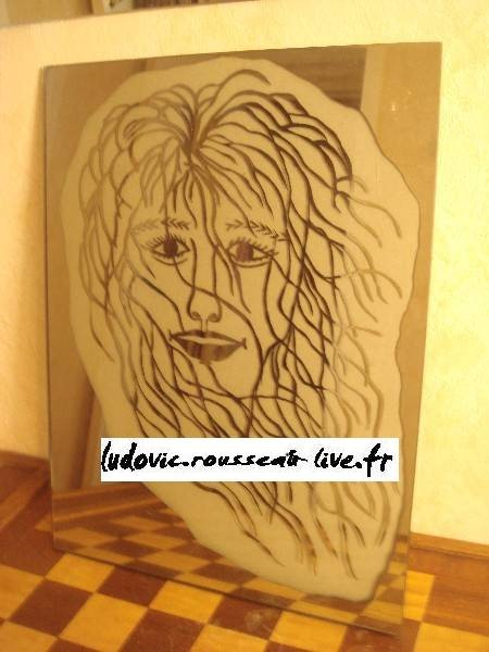 Portrait sur miroir