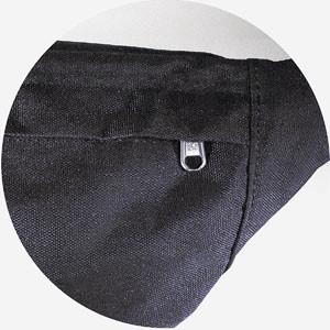 Jack Wolfskin Hokus Pokus eheimfach auf der Rückseite mit verdecktem Reißverschluss