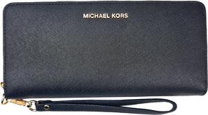 Michael Kors Geldbörse schwarz, Michael Kors Portemonnaie