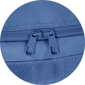 2-Weg-Reißverschluss der Adidas Sporttasche Männer
