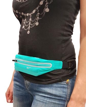 Nike Lean Waistpack mit Handy, türkis