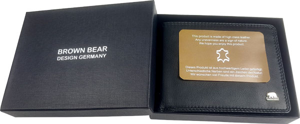 "Verpackung ""Brown Bear Design Germany"""