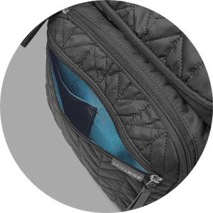Rucksack-Wickeltasche Skip Hop: Reißverschlussfach mit Handyfach