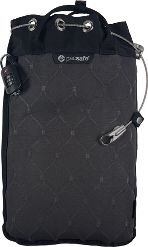Pacsafe Travelsafe 12l GII portable safe oder 5l in grau