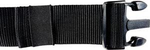 Adidas Bauchtasche überschüssiges Gurtende mit Gummischlaufe fixiert