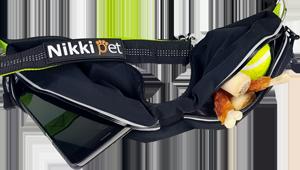 Nikkipet Joggingleine befüllt mit Handy, Hundezubehör