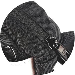 Adidas Bauchtasche Reißverschluss Hauptfach mit Polyesterstoff überdeckt