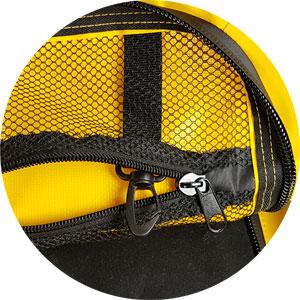 Motorradtasche großes Netzfach mit Karabiner