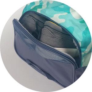 Under Armour Sporttasche mit Schuhfach ... es hat ein Lüftungsgitter