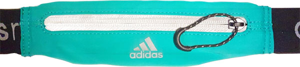 schmaler Adidas Laufgürtel - Vorderansicht