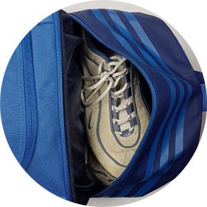 Adidas Sporttasche mit Schuhfach bzw Nassfach