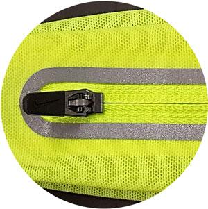 elastisches Gewebe des Nike Lean Waistpack