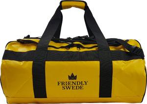"""""""The Friendly Swede"""" ist als Reise-und Sporttasche geeignet."""