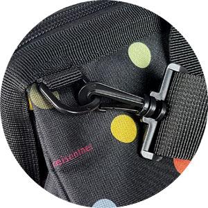 abnehmbarer, längenverstellbarer Schultergurt der Reisetasche Reisenthel
