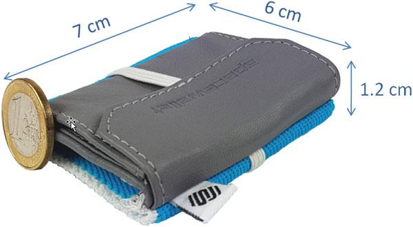Mini Geldbörse Herren oder Damen = Space Wallet 2.0 Pull