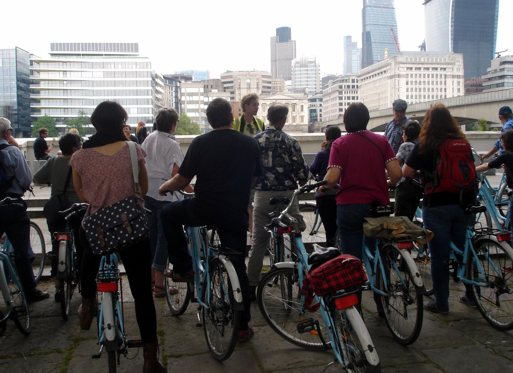 Fahrradtour mitten durch London