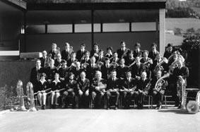 Der Musikverein Suggental im Jahr 1977