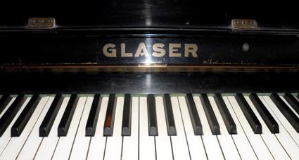 Gebrüder Glaser, Pianofortefabrik in Roda und Jena, 1910-1938