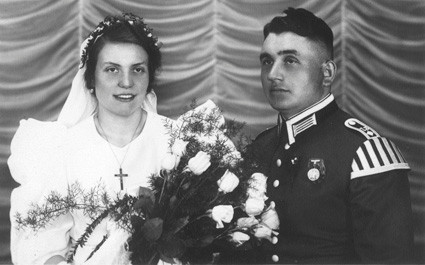 Erika (geb. Tschöke) und Alfons Teuber am 22. Mai 1937