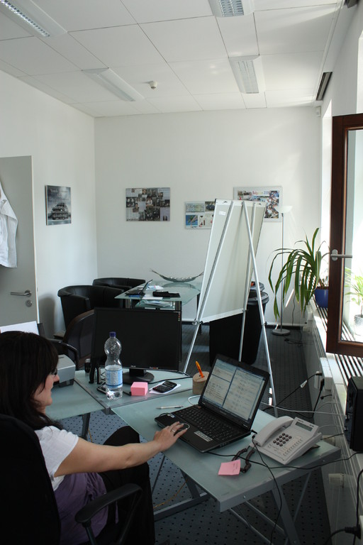 Einblick Geschäftsräume Bernburg