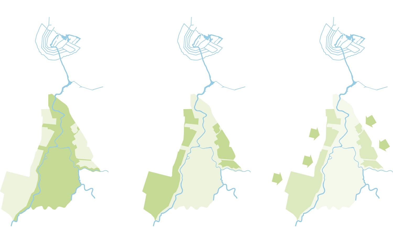 De strategie voor de Amstelscheg: herstel, re-interpretatie, ontwikkeling.