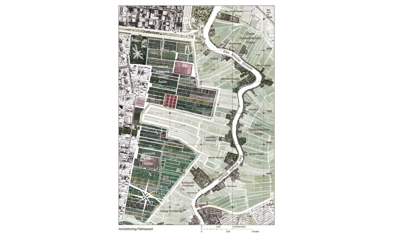 Nieuwe zonering voor de Amstelscheg met nieuwe natuur, lokale voedselproductie, natuurinclusieve landbouw, klimaatadaptatie en recreatie.