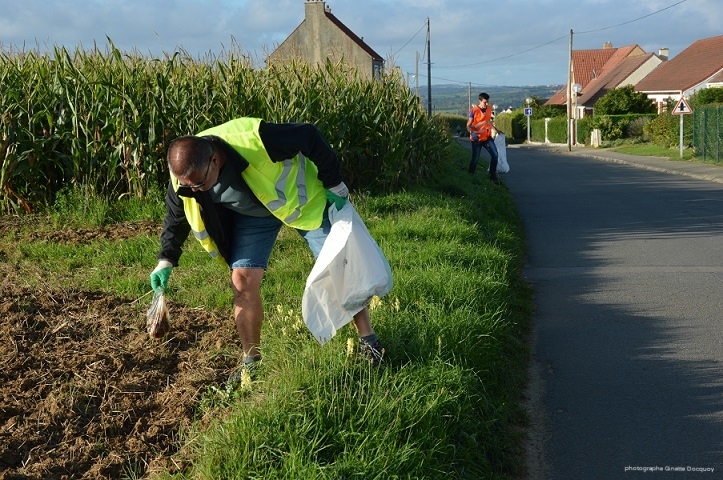 World CleanUp Day à Rinxent