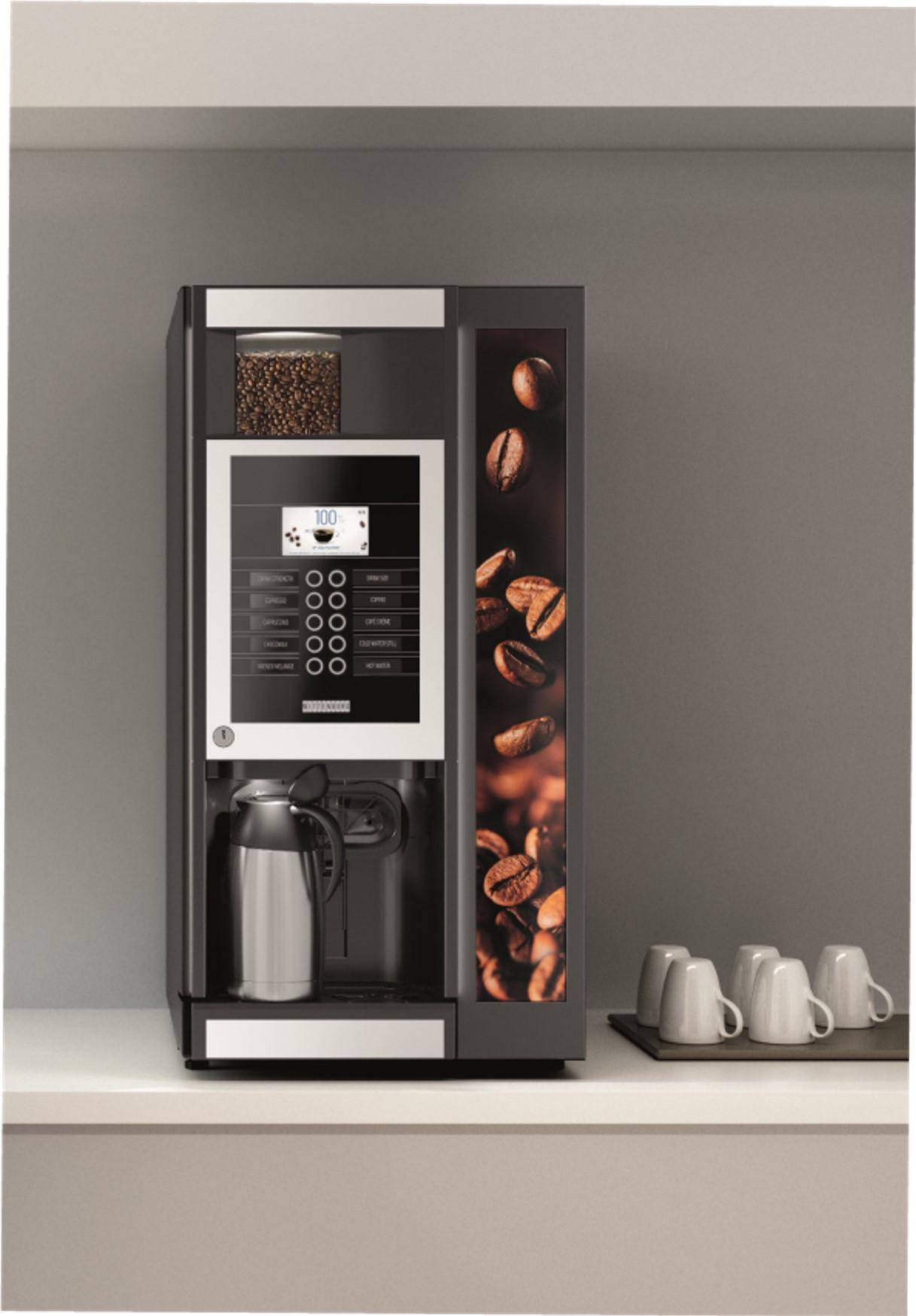 Wittenborg 9000 mit Kaffeekanne