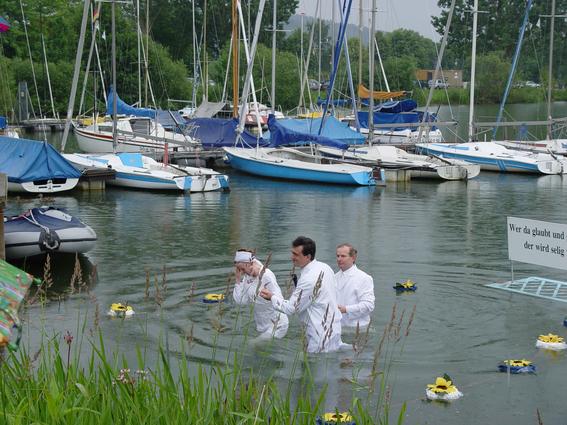 Германия -Крещение