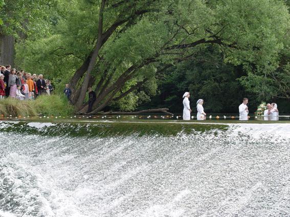 Германия-Крещение