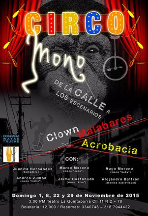 Este fin de semana en el Teatro LaQuintaPorra     WAYAK TRUEKE