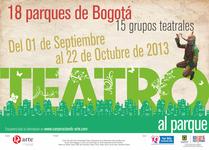 Teatro al Parque. Bogotá 2013