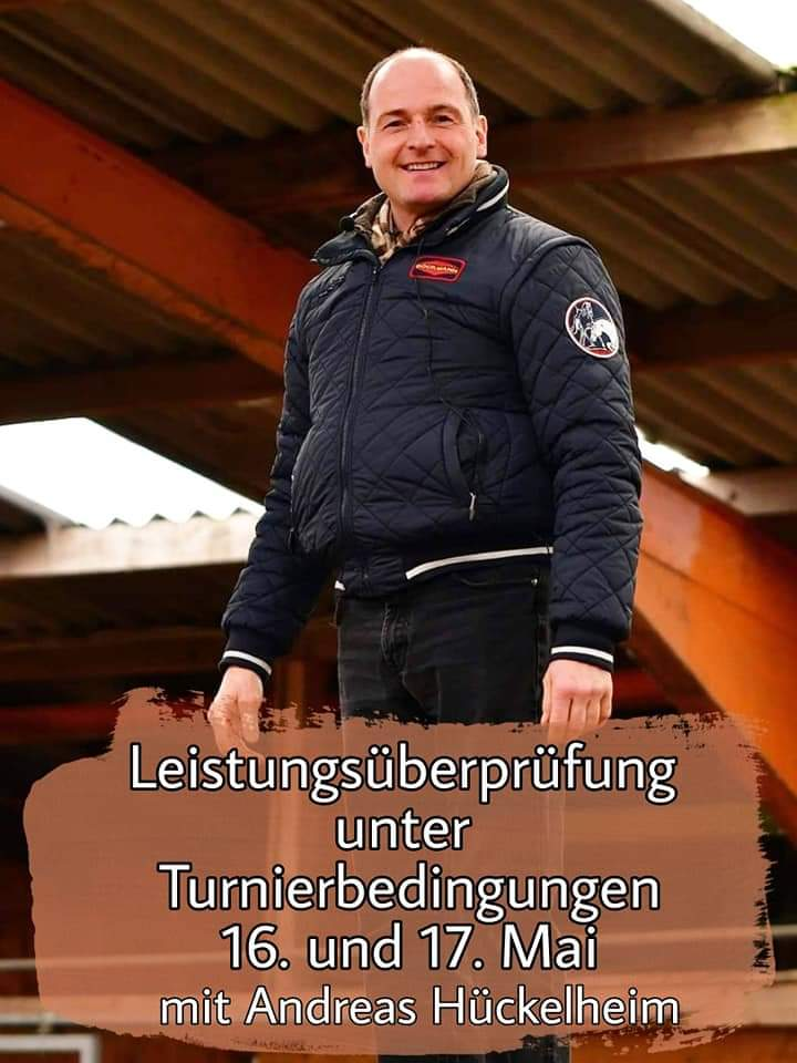Leistungsüberprüfung mit Andreas Hückelheim