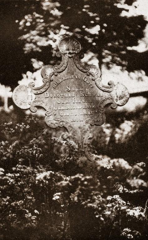 Grabkreuz von Sara Dorothea Schwab, geb. Henes (1795-1862)