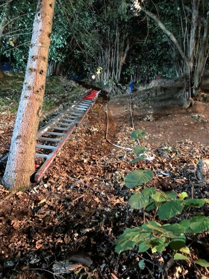 Sommer 2018 / Personenrettung im Waldgebiet