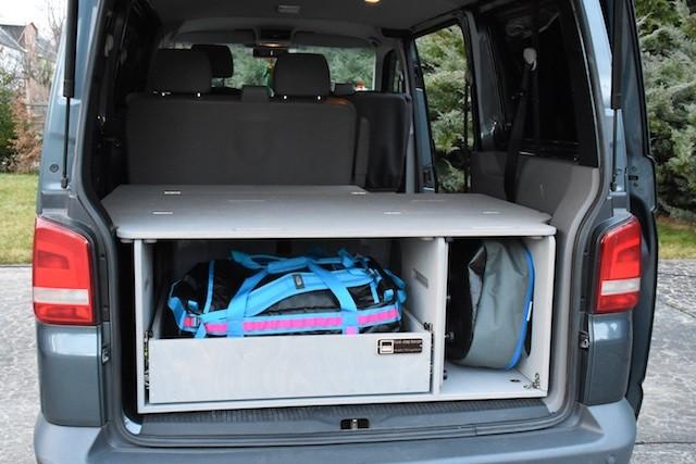 vw t5 t6 transporter travel sleep box. Black Bedroom Furniture Sets. Home Design Ideas