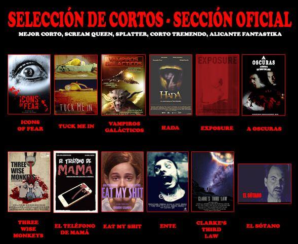 Sección oficial 'Weekend Horror' 2015