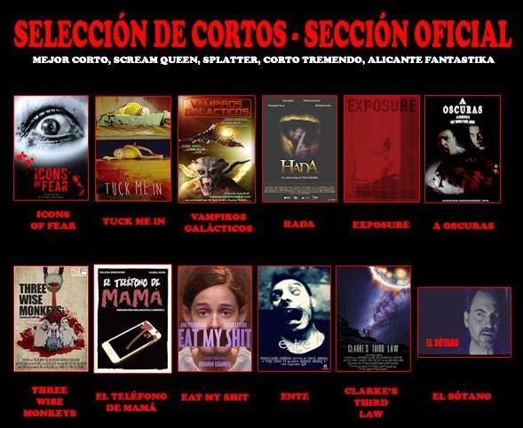 Sección oficial 'Weekend Horror' 2015