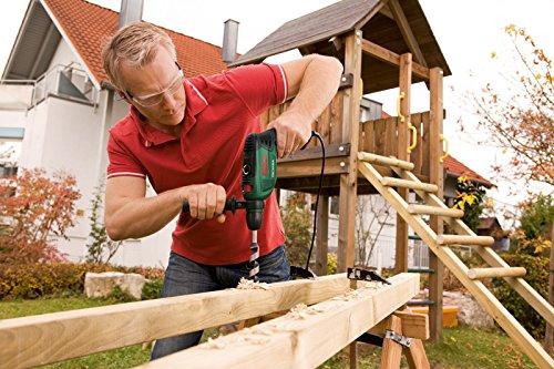 Schlagbohrer bohrt große löcher bis 30mm in Holz