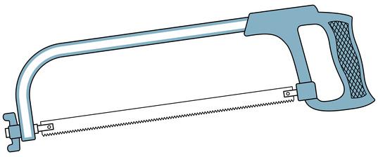 Fantastisch Metallsäge,Eisensäge oder Bügelsäge - top Werkzeugkasten UO35
